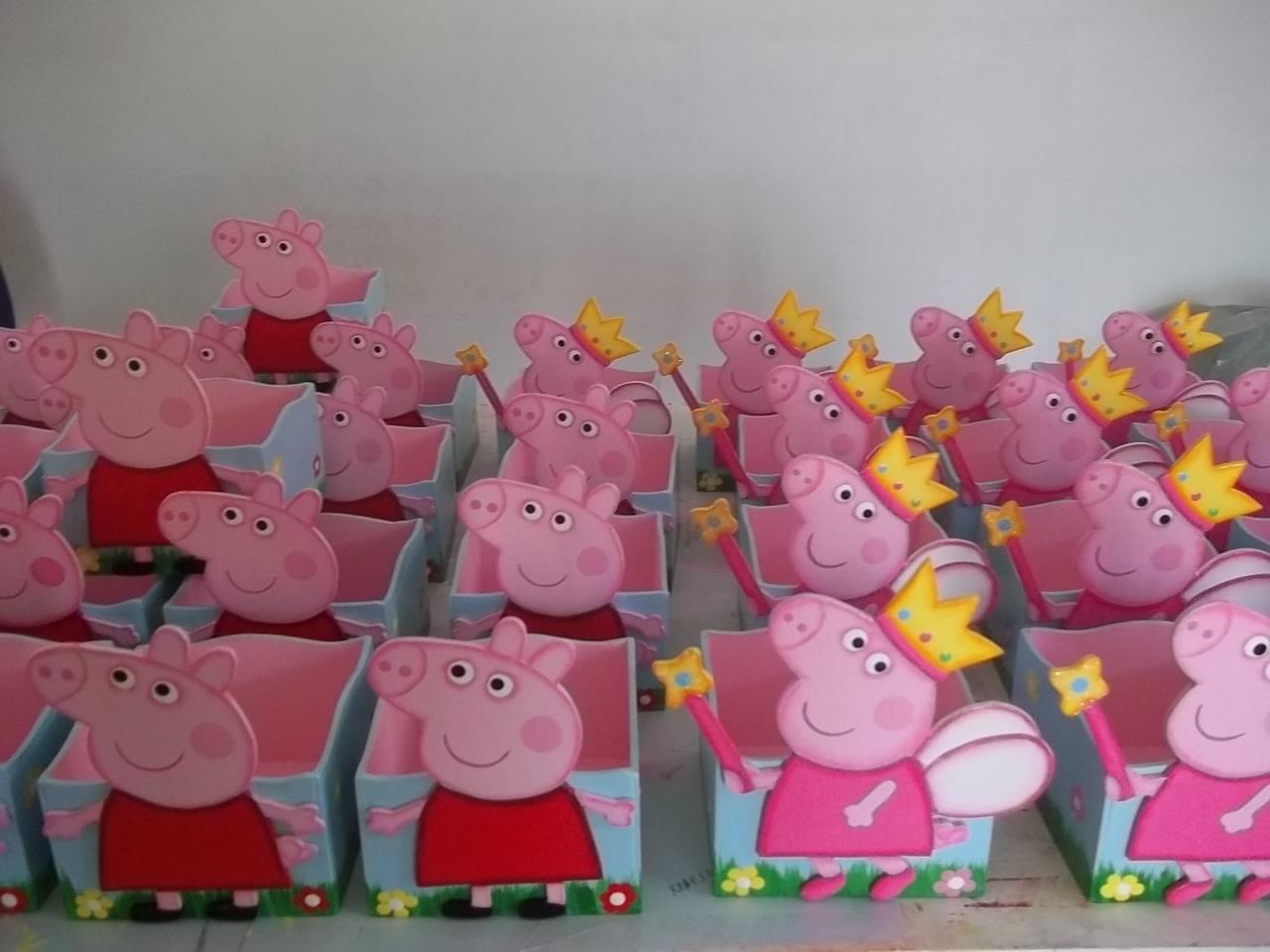 Home/Festas Infantis/Centro de Mesa. Centro de Mesa Peppa Pig Fada